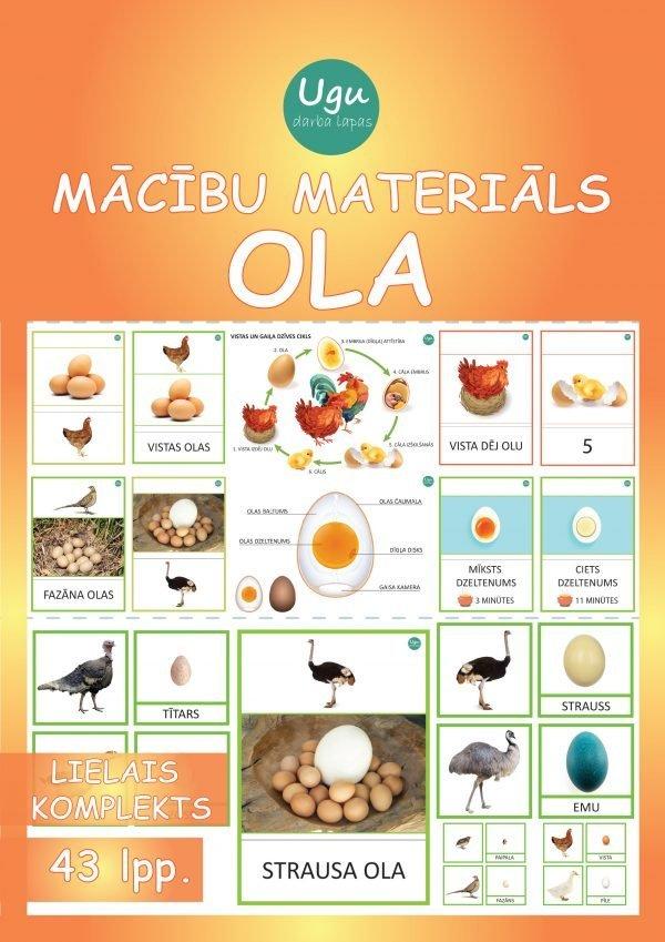 """Mācību materiāls """"OLA"""""""