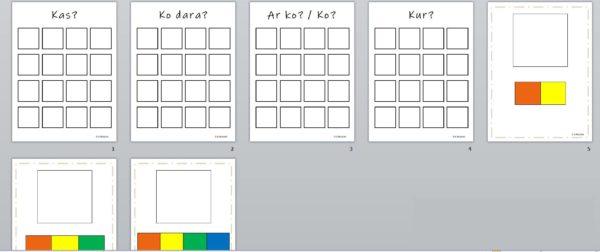 Krāsainā semantika (Colorful semantics)