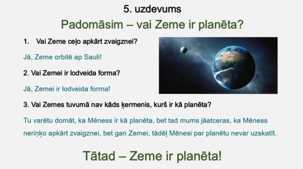 Saules sistēma un planētas (4. – 5. kl.)