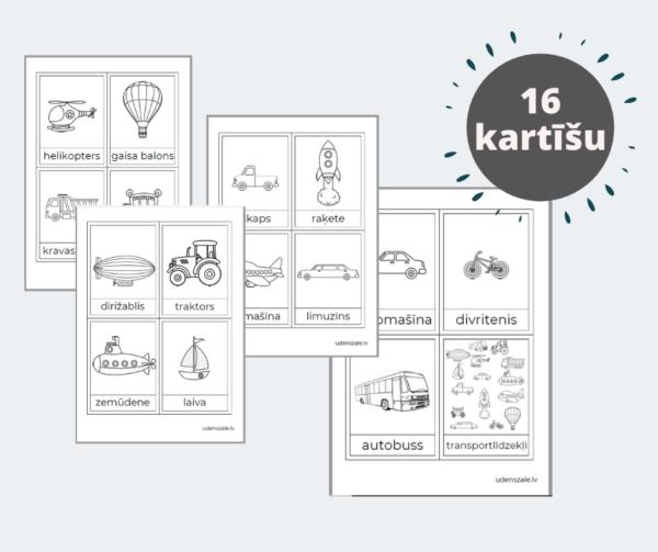 Transportlīdzekļu kartītes (mašīnu kartītes)