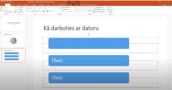 PowerPoint. Vienkāršas prezentācijas izveide