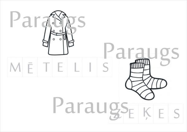 Apģērbs un apavi DARBA LAPAS
