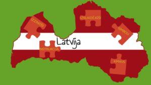Spēle – interaktīva prezentācija Izzini Latviju
