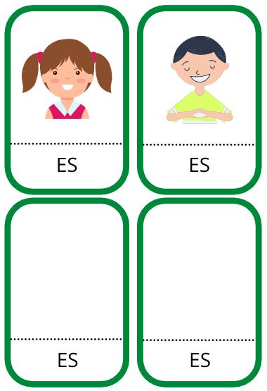 Vārdu kartītes (ĢIMENES tematika)