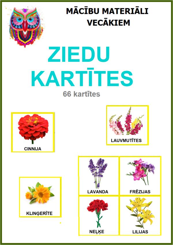 ZIEDU KARTĪTES