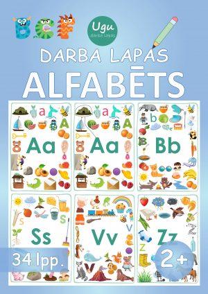 "Darba lapas ""ALFABĒTS"" 2+ gadi, 34 lpp."
