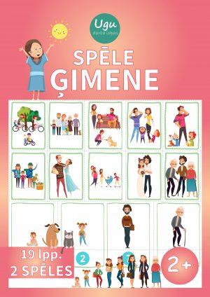 """SPĒLE """"ĢIMENE"""" (2 spēles), 2+ g.v."""