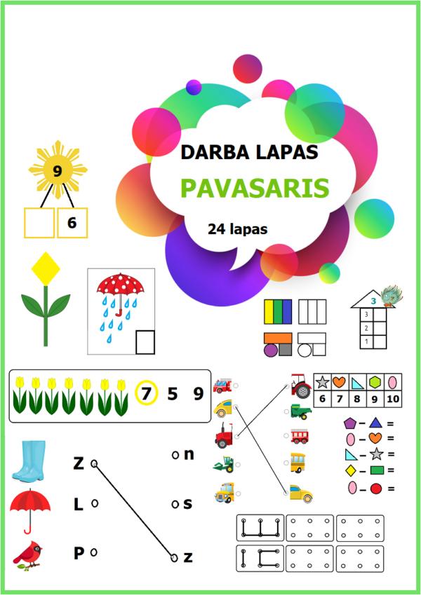 DARBA LAPAS -PAVASARIS