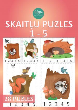 """SKAITĻU PUZLES 1-5"", 28 puzles"