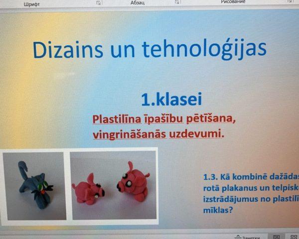 1.3 Plastilīna īpašību pētīšana, vingrināšanās uzdevumi 1.kl