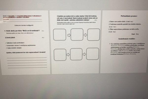 1.3. Dizains un tehnoloģijas 1.klasei PD