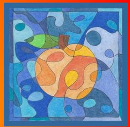 """""""Ābols"""" Krāsu kompozīcija. Krāsu mācība."""