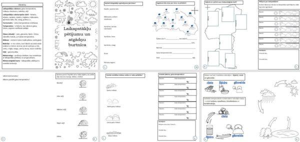 2.1. Laikapstākļu pētījumu un atgādņu burtnīca (2.klase)