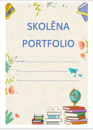Skolēna portfolio.