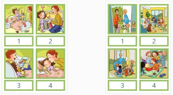 """Kartītes """"SALIEC STĀSTIŅU"""", 9 stāsti"""