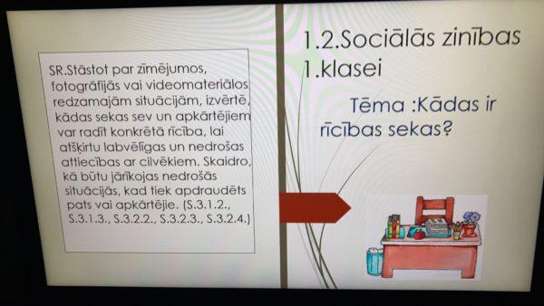 1.2.Sociālās zinības 1.klasei Tēma Kādas ir rīcības sekas?-2