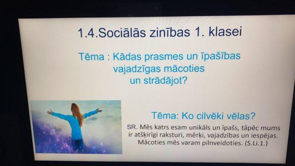 1.4.Sociālās zinības 1.klasei
