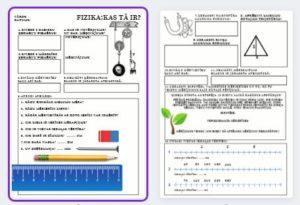 FIZIKA 8.KLASEI-prezentācijas + darba lapas (SKOLA 2030)
