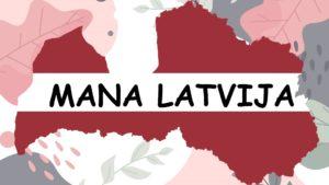 """Spēle """"Mana Latvija"""""""